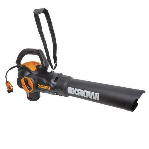 Lightweight 600 CFM 12 Amp 2 Speed Corded Electric Leaf Blow