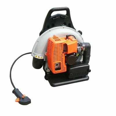 Back Pack Leaf Blower 65cc Powered Commercial Blower 2 Stroke
