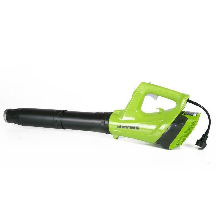 Greenworks Corded Electric Blower