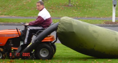 Lawn Tractor Leaf Bag Never Rake Aga