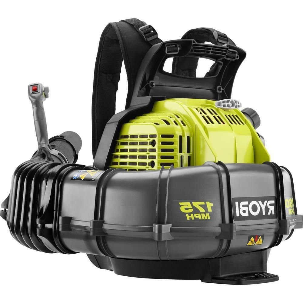 Backpack Gas Leaf Blower 185 MPH 510 CFM Variable Speed 42cc