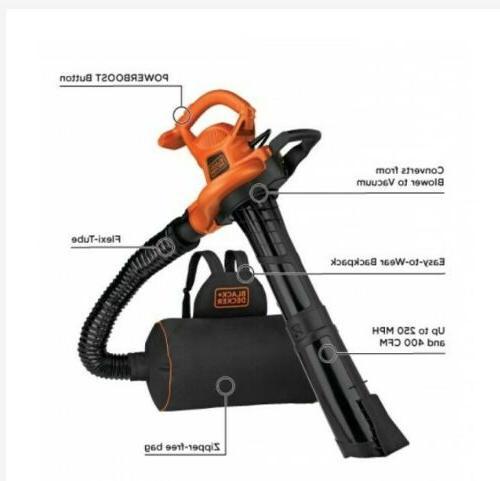 Blower, Vacuum Mulcher BEBL7000