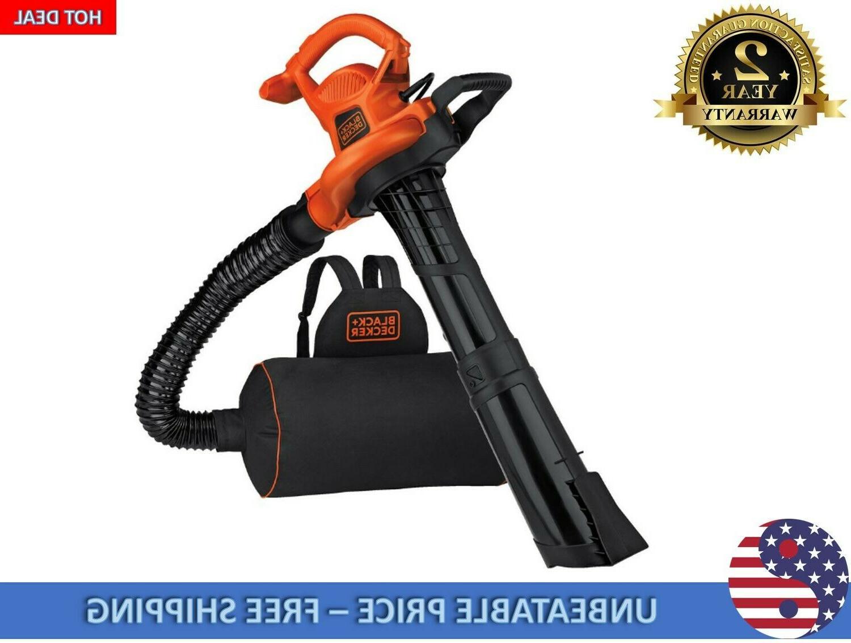 BLACK+DECKER 12-Amp Corded Electric Blower Vacuum