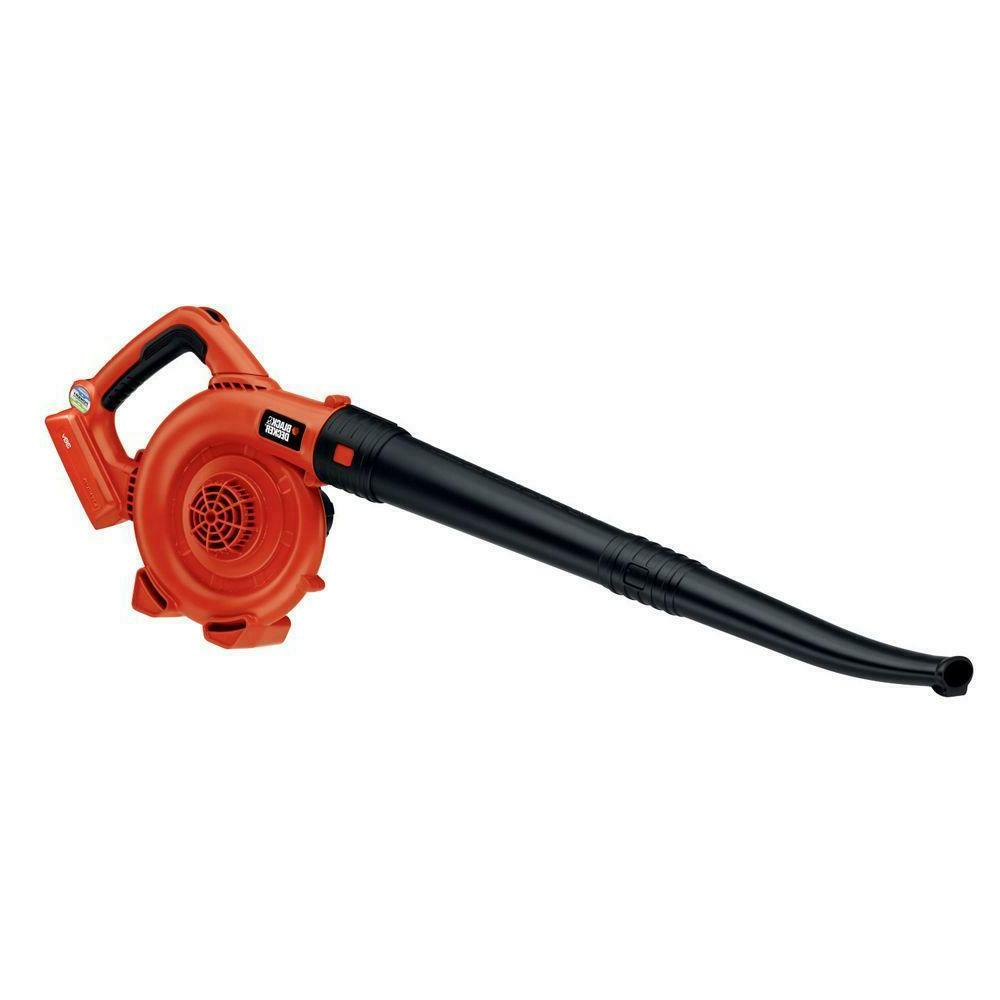 Black+Decker Cordless 40V Lithium Ion Leaf Blower Lawn Yard