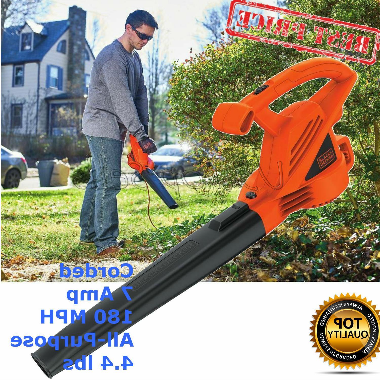 BLACK Electric Blower 180 4.4 lbs