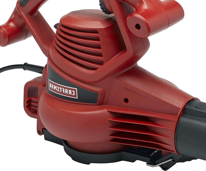 Blower Leaf Vacuum Cleaner Electric Handheld 12-amp