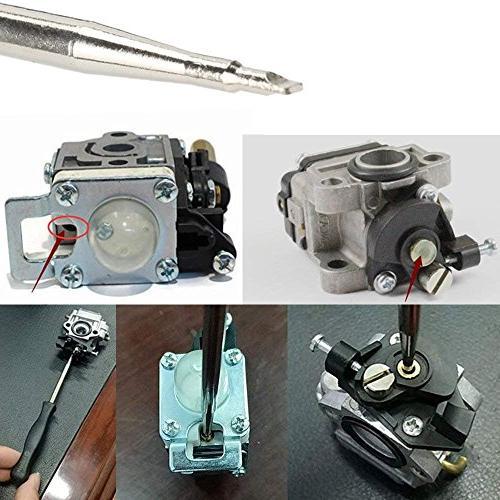 Leeyu Adjustment for Small Engine Husqvarna Ryobi Kit Needles and Brushes