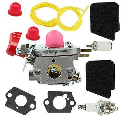 Carburetor Air Fuel Filter For Craftsman 358794781 Leaf Blow