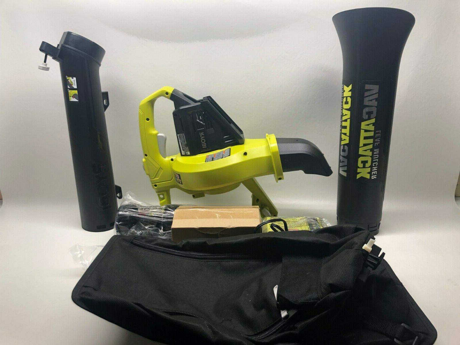 cordless 2 in 1 leaf blower 40
