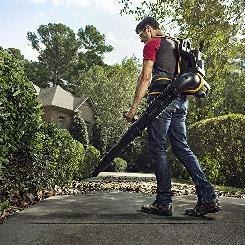 Poulan Cordless 675 CFM MPH Backpack Leaf