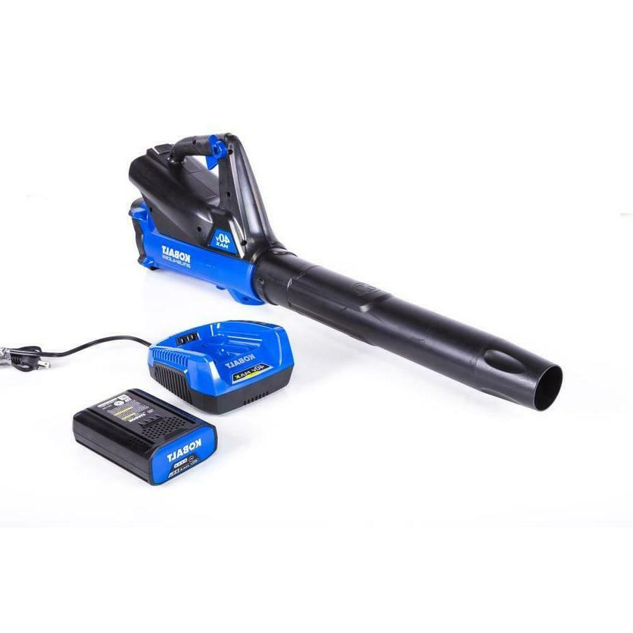 Kobalt 40v Cordless Axial Blower Lithium Ion Battery Include
