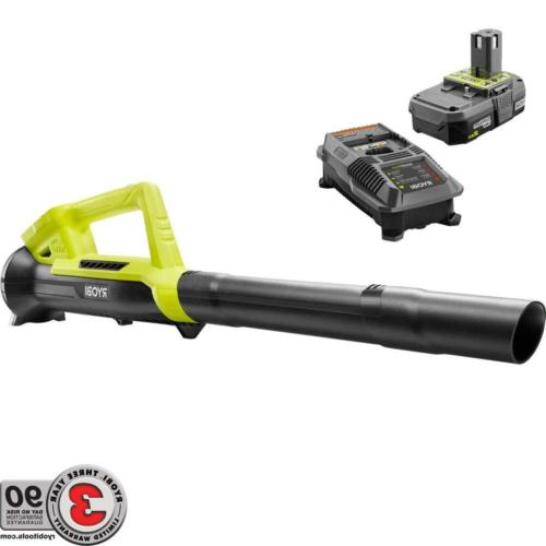 cordless leaf blower 18v one lithium ion