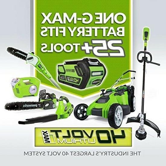 Cordless 40V 150 Greenworks Speed Light