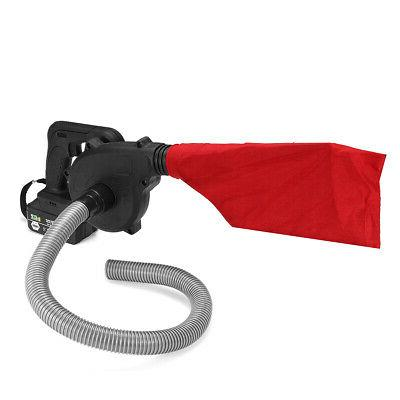 Cordless Leaf Blower Battery Lawn Suction