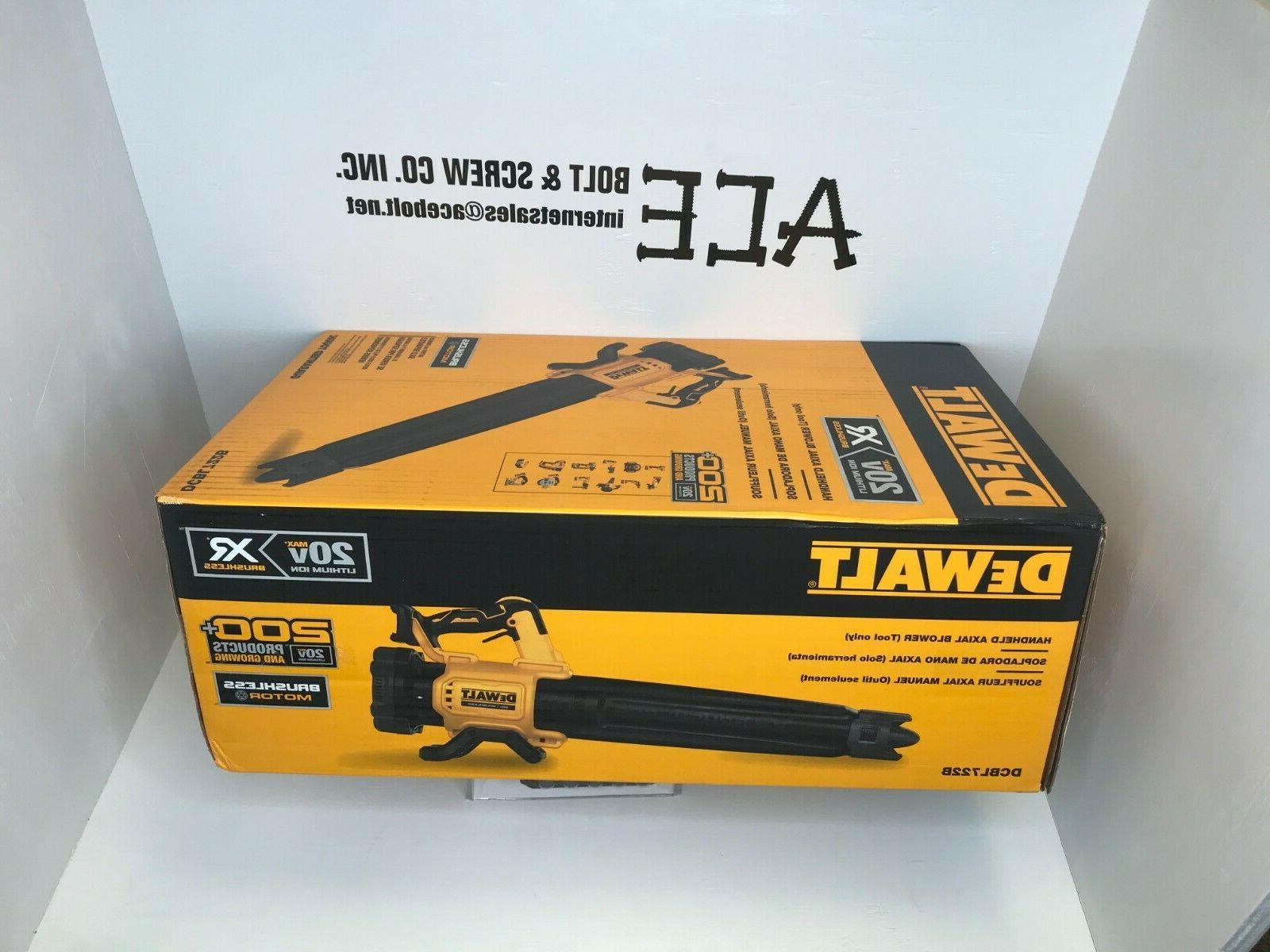 dcbl722b 20v max cordless axial leaf blower