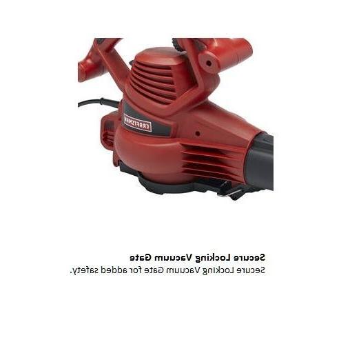 Electric Leaf 12 AMP Speed Sweep Lawn Yard Mulcher Bag