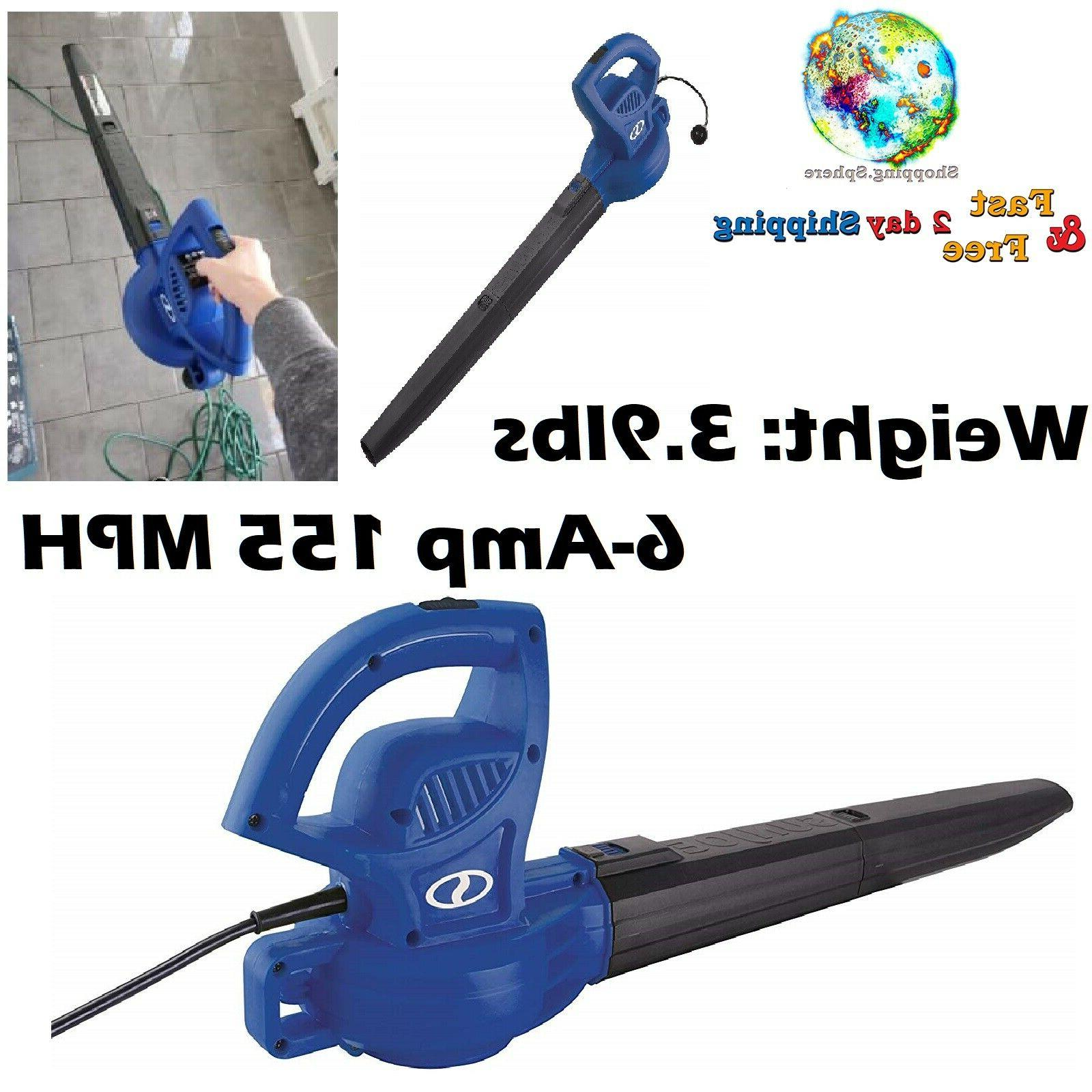 electric leaf blower corded handheld patio driveway