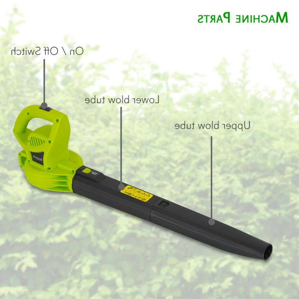 ELECTRIC BLOWER SWEEPER Corded Handheld 6