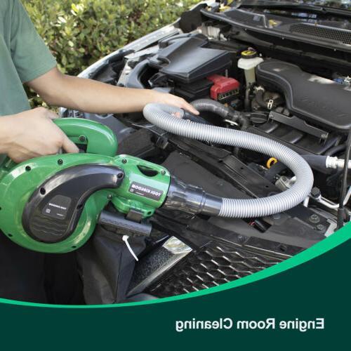 electric leaf blower sweeper vacuum 1200w 10a