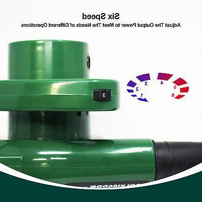 Electric Leaf & Heavy Duty Speed 0-13000