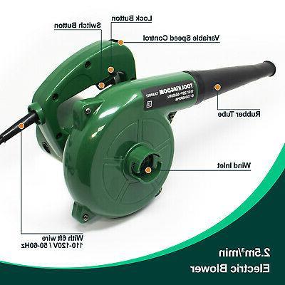 Electric Leaf & Vacuum Heavy Duty 6 Speed 0-13000