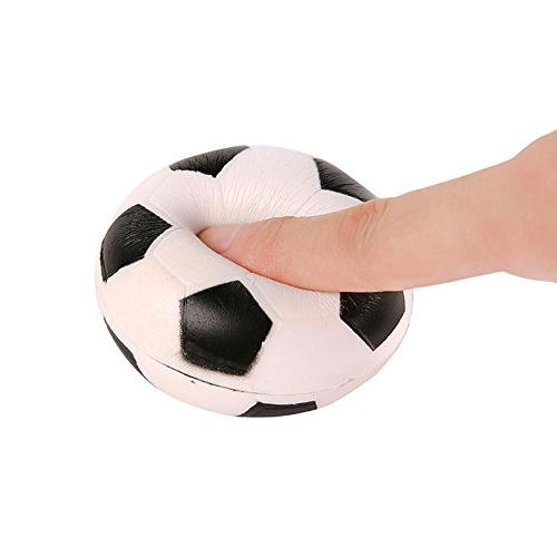 LtrottedJ Football Slow Rising Scented Stress Toy
