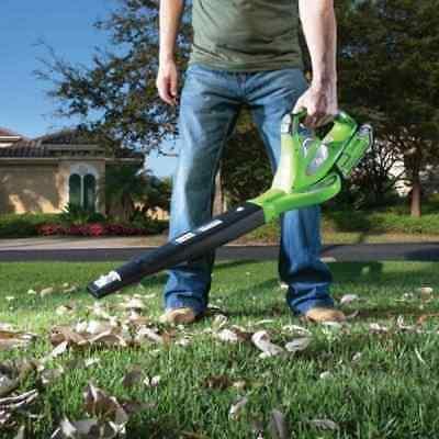 GreenWorks G-MAX 40V Cordless 150 MPH Handheld Electric Yard Vacuum Blower