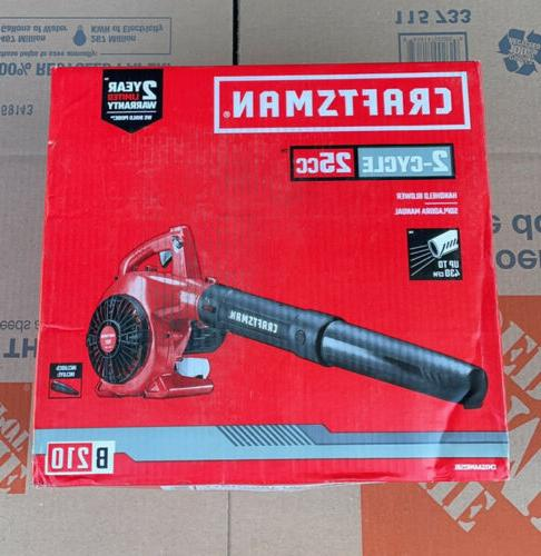 handheld gas leaf blower b210 25 cc