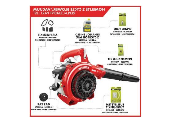 Homelite Handheld Mulcher Gas 150 MPH 2