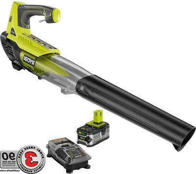 leaf blower 18 volt lithium ion cordless