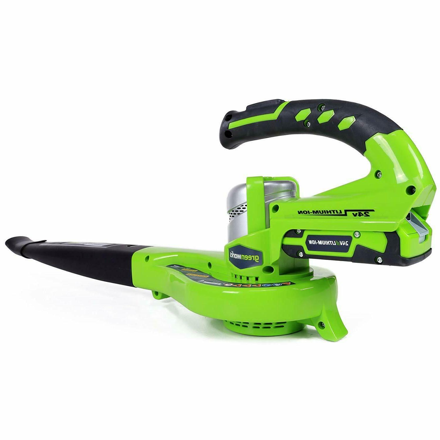 Leaf Cordless 24 Lithium Battery Powered Dual