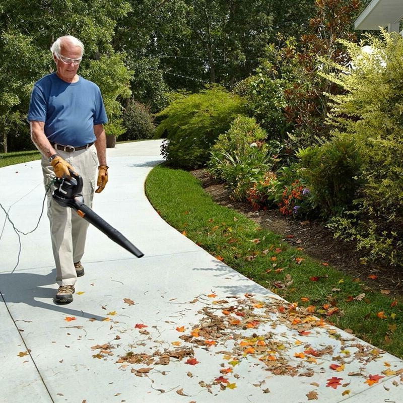 Leaf Blower Shredder Lawn Bag 2 Core
