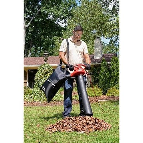 Leaf Blower Vacuum Shredder Yard Bag