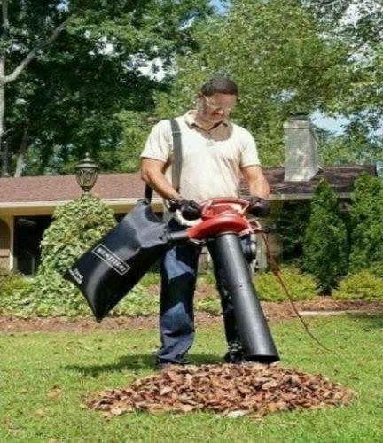 Leaf Blower Vacuum Sucker Shredder Lawn Yard Mulcher Bag 2 S