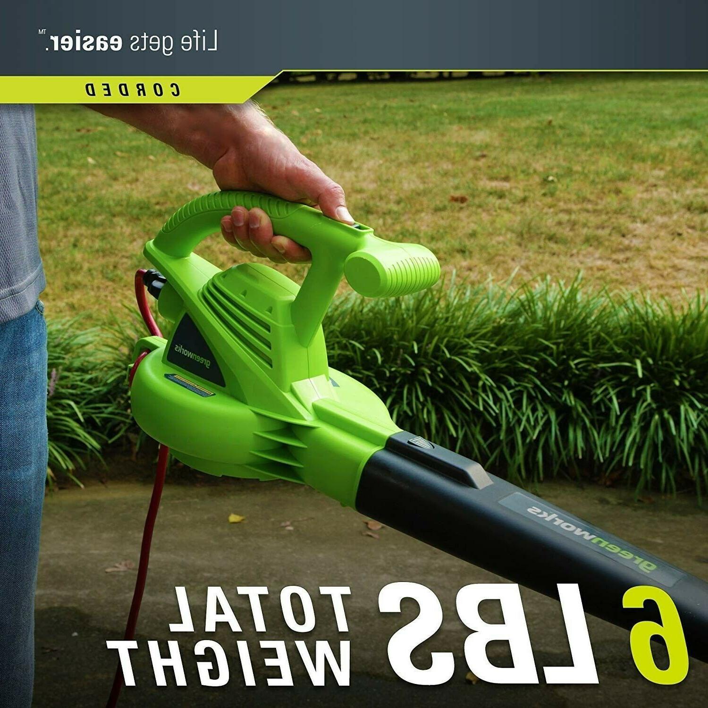 Leave Blower Sweeper Portable Leaf Grass Yard