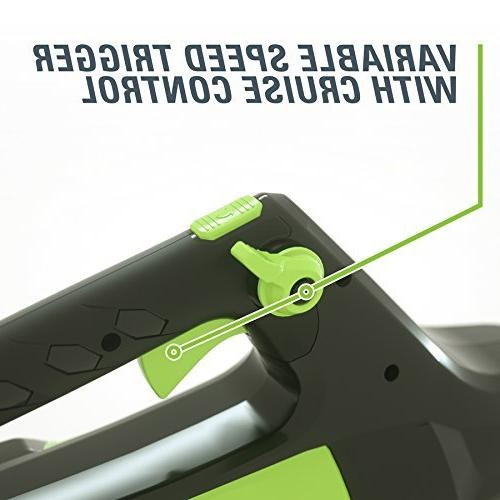 GreenWorks Pro Max Ion 140-MPH Cordless Electric Leaf