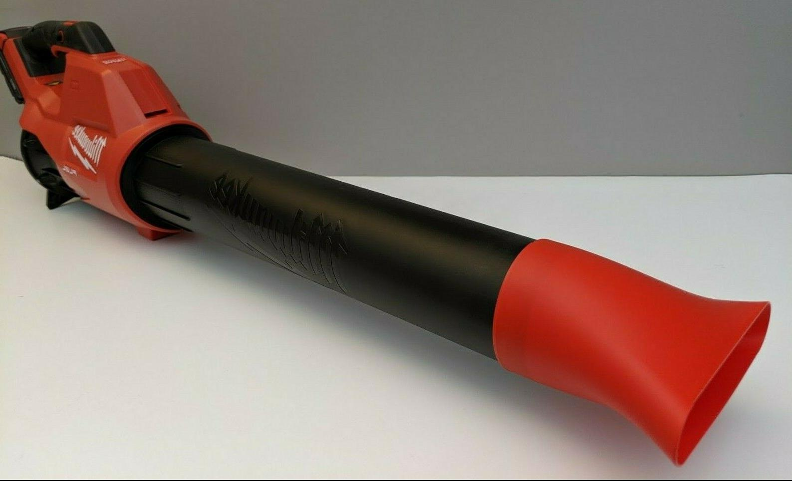 milwaukee m18 fuel leaf blower flat nozzle