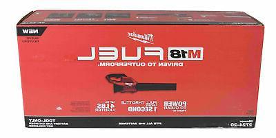 Milwaukee M18 120 MPH 450 18-Volt Lithium Ion Brushless Blower