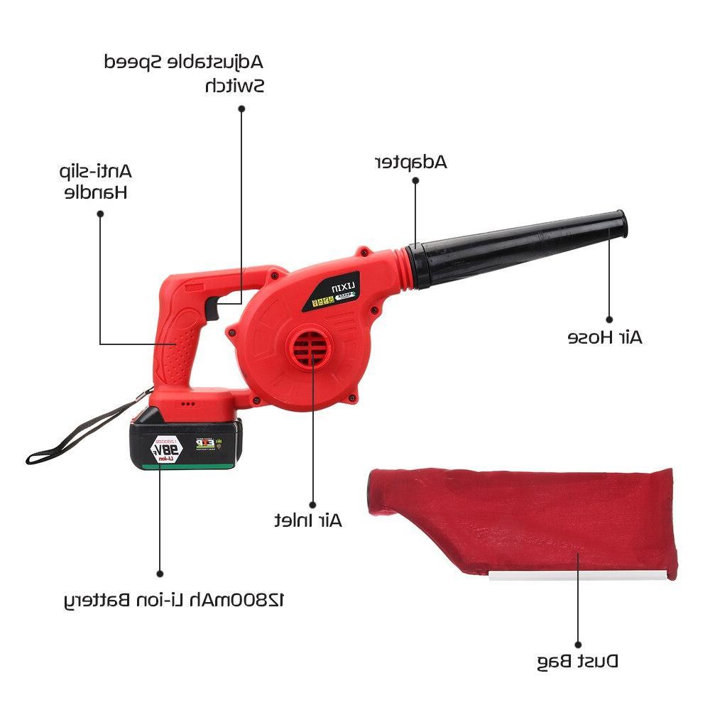 <font><b>Blower</b></font> Sweeper 12800mAh Li-ion Battery Cordless <font><b>Blower</b></font>