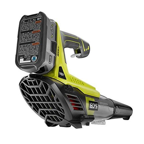 ONE+ MPH CFM 18-Volt Cordless Blower - Battery and