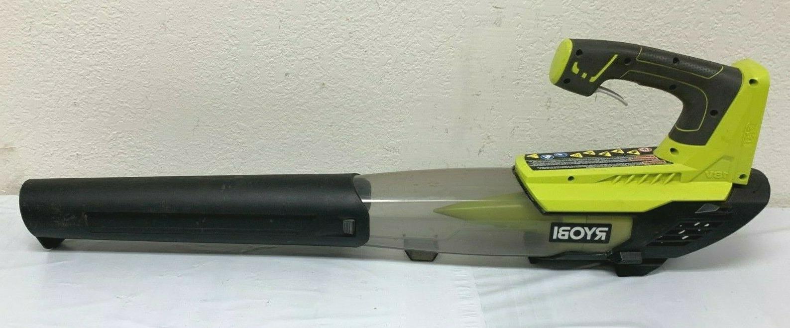 RYOBI P21081 Cordless Fan Leaf Blower Lithium-Ion Speed GR