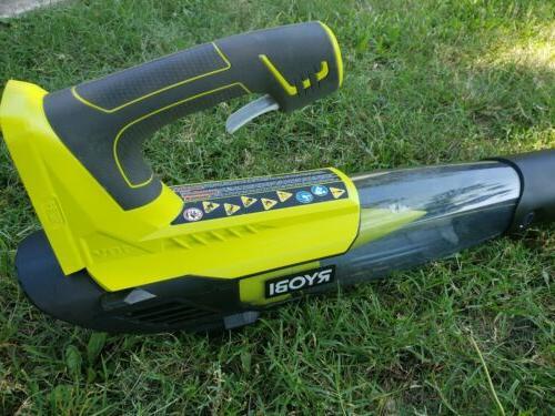 RYOBI CFM 18-Volt Leaf Blower