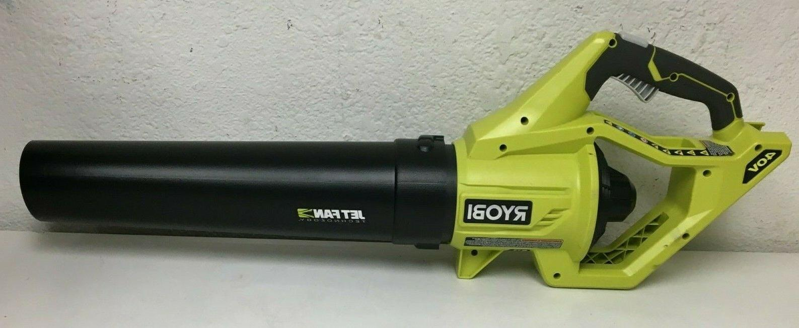 RYOBI 110 MPH 500 40V CORDLESS LEAF BLOWER GR