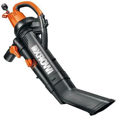 Worx Trivac Collection 3-in-1 Blower/Mulcher/Yard Vacuum Ins