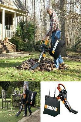 Worx Trivac Collection 3-in-1 Blower Mulcher And Vacuum With