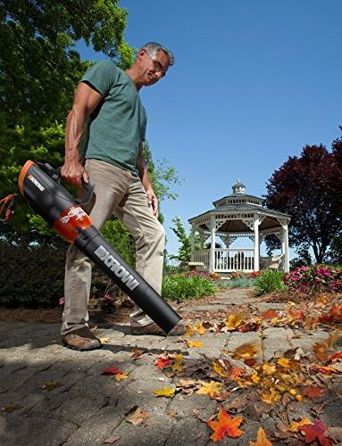 Worx Corded Leaf Blower 110 MPH and Speed –