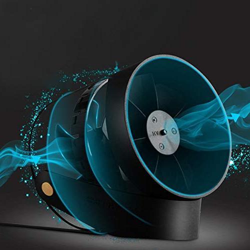 ?USB Mini Portable Smart Electric Fan Quiet Desktop Cooler Pink, Home Holiday