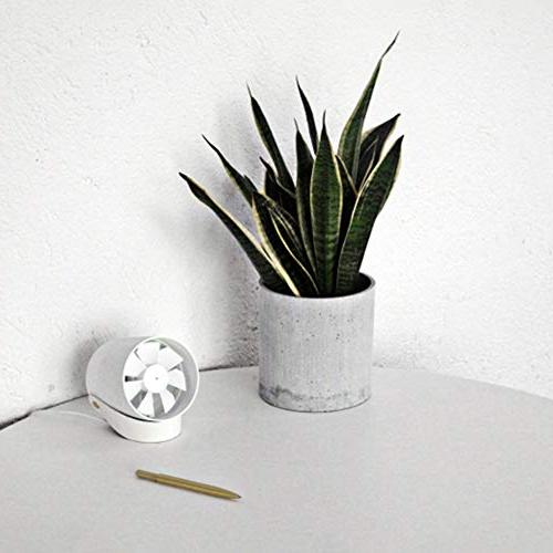 ?USB Maserfaliw Mini Portable USB Fan Quiet Touch Desktop - Pink, Holiday Gifts.