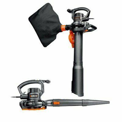 wg507 electric 12a leaf blower mulcher vacuum