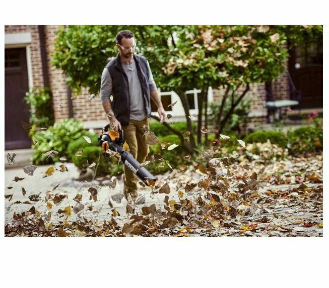 WORX WG512 Amp Leaf Blower/Mulcher/Yard